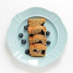 Blueberries Zucchini Bread.