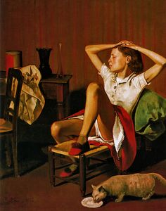 Therese dreaming - Balthus