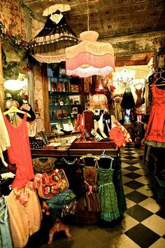 """""""Beautiful vintage dresses. Re-made, sometimes re-cut. The owner has a great, distinct and excellent eye. She also has belts and sweaters. The green tutu from the 'Sex and the City' Paris episode was found and purchased here."""" - SJP  