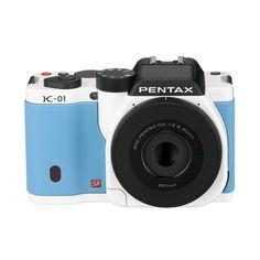 marc newson pentax k 01 digital camera white blue 02 Marc Newson x PENTAX   K 01 Digital Camera   White/Blue