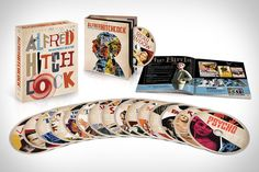 Alfred Hitchcock: The Masterpiece Collection // // [interesting special edition packaging]