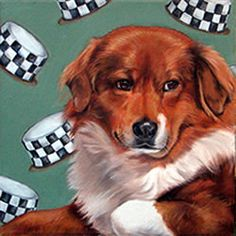 Iconic Dog and Cat Pet Portraits by Gwen Rosewater