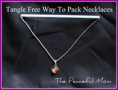 Pack jewelry tangle-free!
