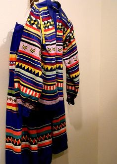 Seminole Patchwork Blouse and Skirt is part of the Lavers Collection at the Marion County Museum in Ocala,Florida.