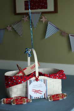 """""""Time Flies"""" vintage airplane party - party favors"""