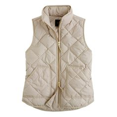 Excursion quilted vest - J.Crew - Love mine. Literally goes with everything