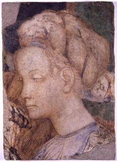 Pisanello TESTA DI DONNA Rome
