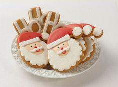Cookies suited for Santa himself. #merrychristmas