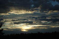 Phoneography challenge. Oregon Sunset