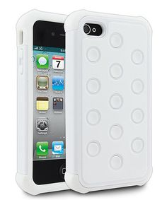 Take a look at this White Tundra Case for iPhone 4/4S by Cellairis on #zulily today!