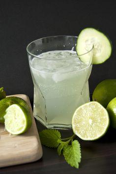 Cucumber Lime Cooler Cocktail Recipe