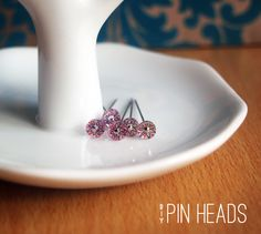 shrinky dink pin heads #shrink #pinheads #decoration