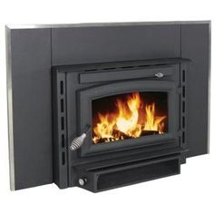US Stove 1,800 sq. ft. EPA Certified Wood Burning Fireplace Insert-2200I at The Home Depot $1,079
