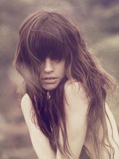 #bangs #hair #style #layers #waves