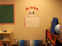Homework Bingo- more than one name can go on a square: if students hand in completed homework on time, they may sign their name on a square.  At the end of the week, we draw a coordinate and whoever has their name on that square, earns a prize.