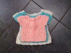Crochet Little Moll's Dress & Cardigan Set - 3 Sizes, http://crochetjewel.com/?p=10640