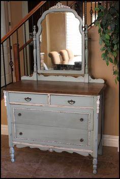 love refurbished furniture! #www.storiesofahouse.com