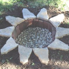 Underground fire pit! Cost less than $50 to make :)