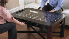 Foosball Coffee Table. No words to describe how awesome this is!