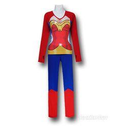 Wonder Woman kewl pyjamas - me wanties! @Caneesha
