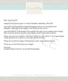 My image release: protecting yourself and your photos. Article by Elizabeth Halford