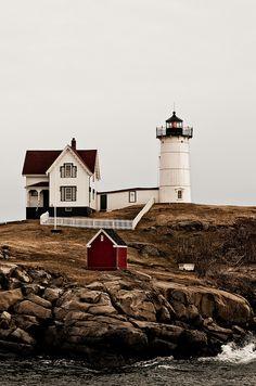 Cape Neddick Lighthouse, Cape Neddick, York, Maine