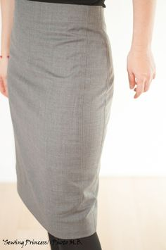 Perfect Pencil Skirt – Apron Skirt by Paco Peralta