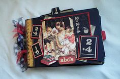 An ABC Primer Envelope Mini Album