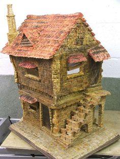Ooak Fantasy House