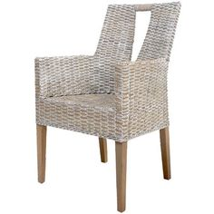 $284.54 A Home Group, Inc Rattan Arm Chair