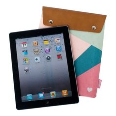 iPad Sleeve: Happy, $39.95