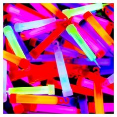 Glow Sticks (use inside bottles for decor)