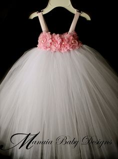 Flower Girl Tutu Dress / Pink Tutu Dress