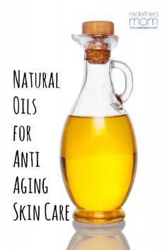 Natural Oils For Anti Aging | RedefinedMom.com