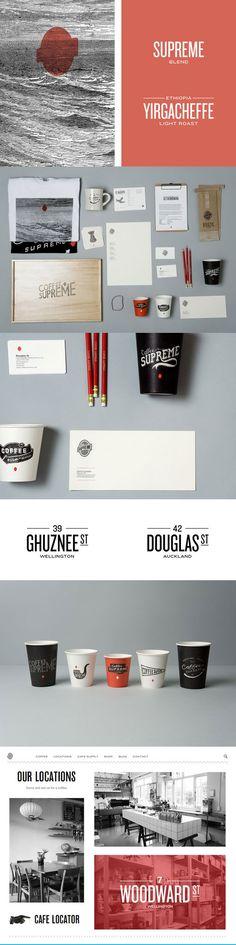 Coffee Supreme Re-Brand | Designer: Hardhat Design