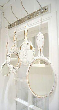 Hand mirrors