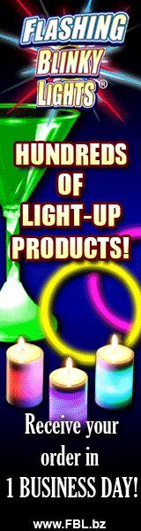 yay!! glow stuff