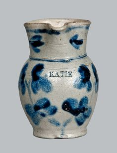 Baltimore Pitcher ca 1860.