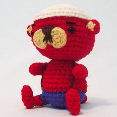 Pascal the Otter - free crochet pattern