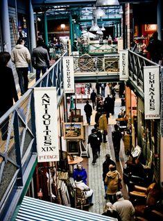 A weekend at The world famous Les Puces also known as Les Puces de Saint-Owen Flea Market in Paris, France.