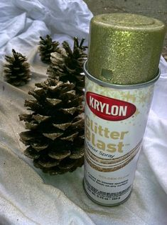 DIY with Krylon glit