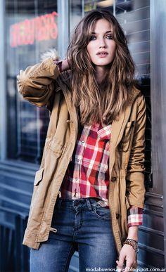 Wrangler moda invierno 2014 camperas 2014