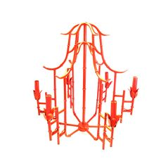 bamboo chandelier