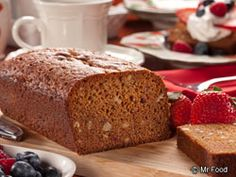 If you thought making homemade bread wasn't easy, think again! Our Strawberry Nut Bread is perfect for breakfast, and once you see how simple it is, you'll be baking it all the time.  Read more at http://www.mrfood.com/Bread/Strawberry-Nut-Bread-3679#5hLxD7ujlwcfLO5D.99