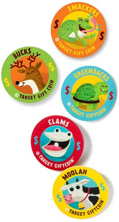 Target Gift Coin Critter$ by tad carpenter
