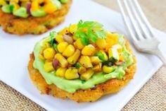 Bacon Potato Pancake with Toasted Corn Salsa - Potato Goodness