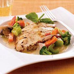 Chicken Sorrento #myplate #vegetables #protein