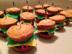 "Vegan ""Cheeseburger"" Cupcakes  A GREAT Father's Day Dessert ...these don't taste like regular cheeseburgers promise!    #happyfathersday #fathersday #dessert #vegan"