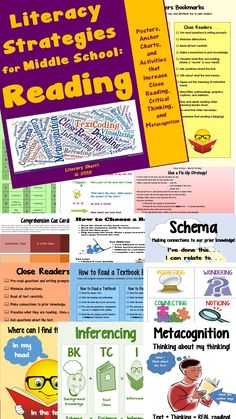 Middle Schoolers are still learning HOW to read well and they need grade-appropriate strategies! These posters, anchor charts, and bookmarks are created to teach and reinforce reading strategies to adolescents! Special attention is paid to close reading, metacognition, and repairing reading when meaning breaks down. Use these in all content areas to help students transfer reading skills to all subjects! Teaching Tips, Learning Objectives, and Common Core Standards all included. $9.60