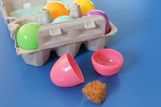 Resurrection eggs for toddlers